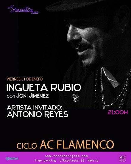 Ingueta Rubio en AC Recoletos