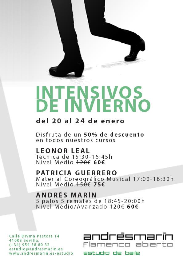 Intensivos de Invierno - Andrés Marín Flamenco abierto