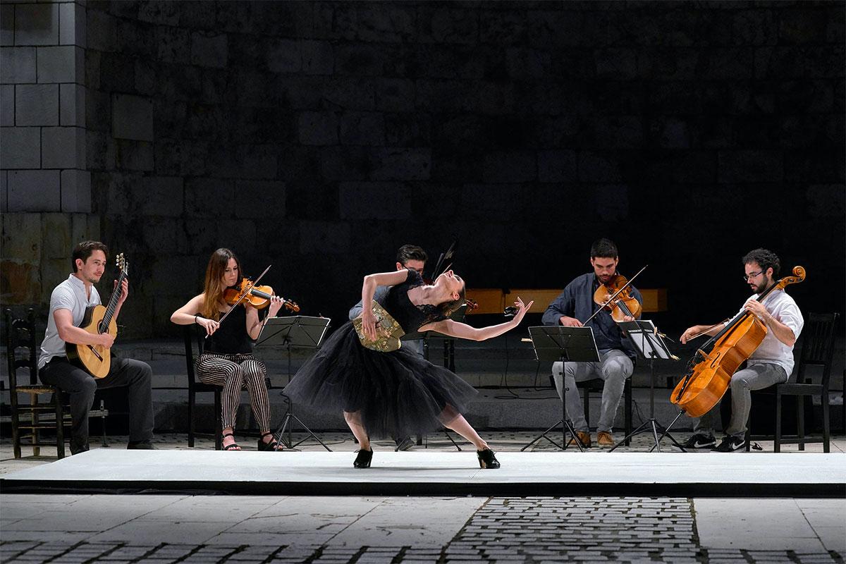 Sara Calero estrena 'FANDANGO AVENUE' en Madrid en Danza