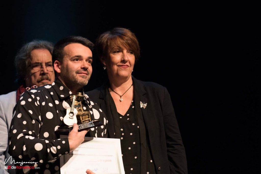 Victor Palacios -  2º premio cantes poco interpretados