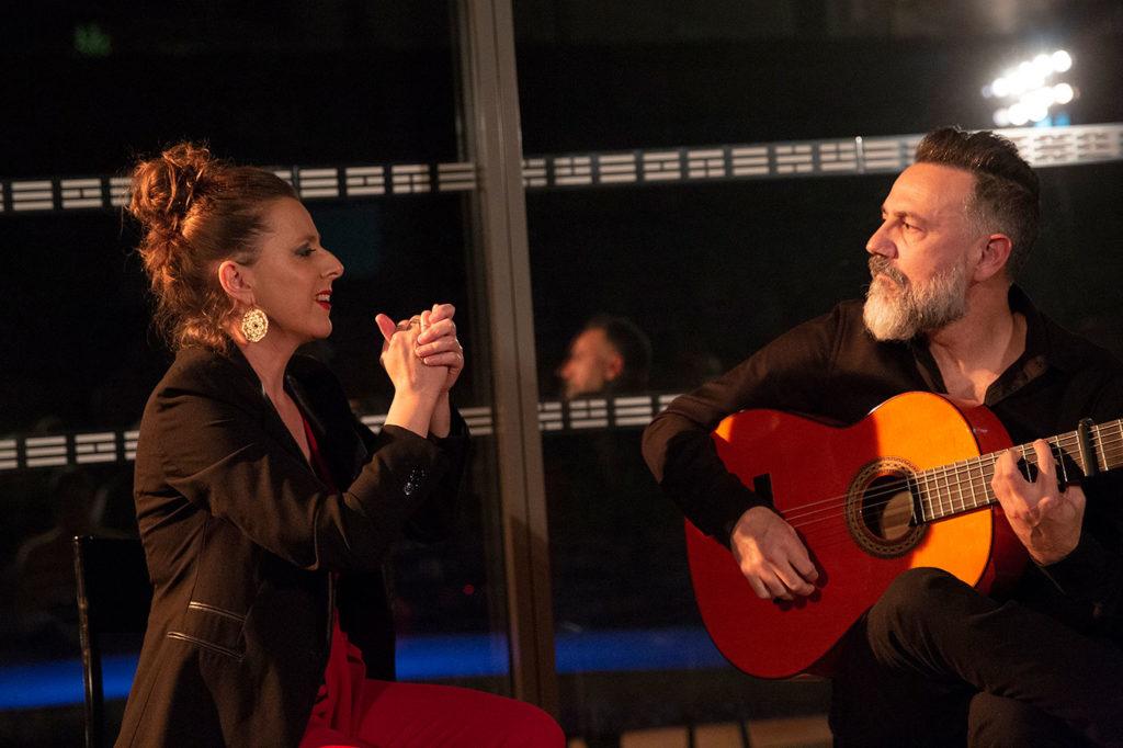 Gema Caballero & Javier Patino - Festival Flamenco Nimes - foto: Sandy Korzekwa