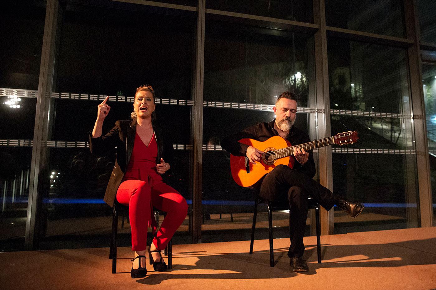 Gema Caballero & Javier Patino en Festival Flamenco Nimes