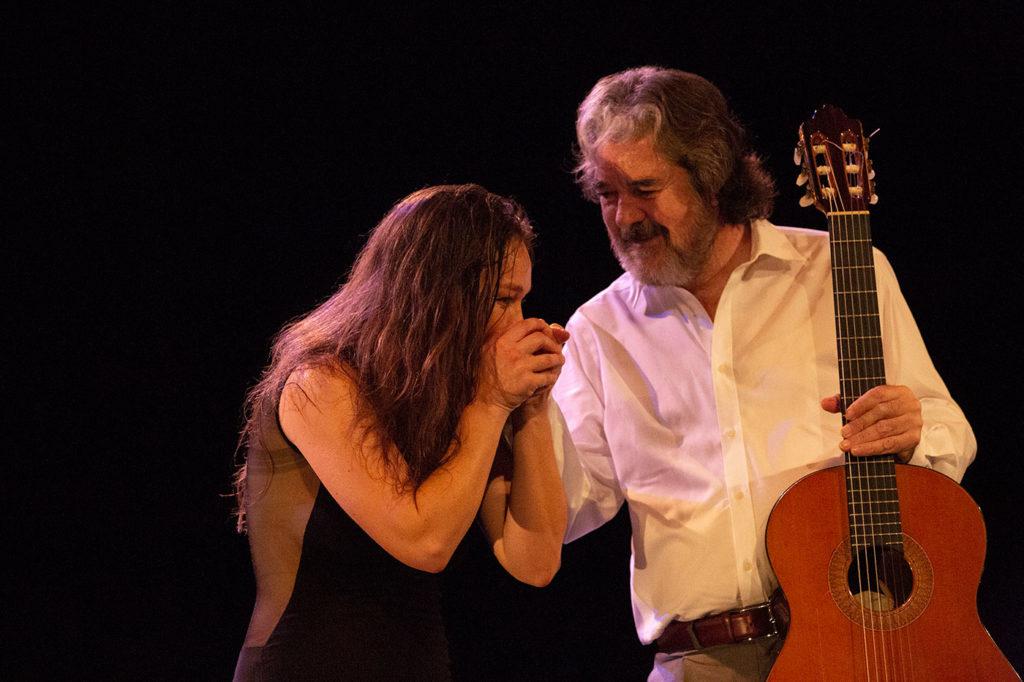 Rocío Molina & Rafael Riqueni - Nimes - foto: Sandy Korzekwa