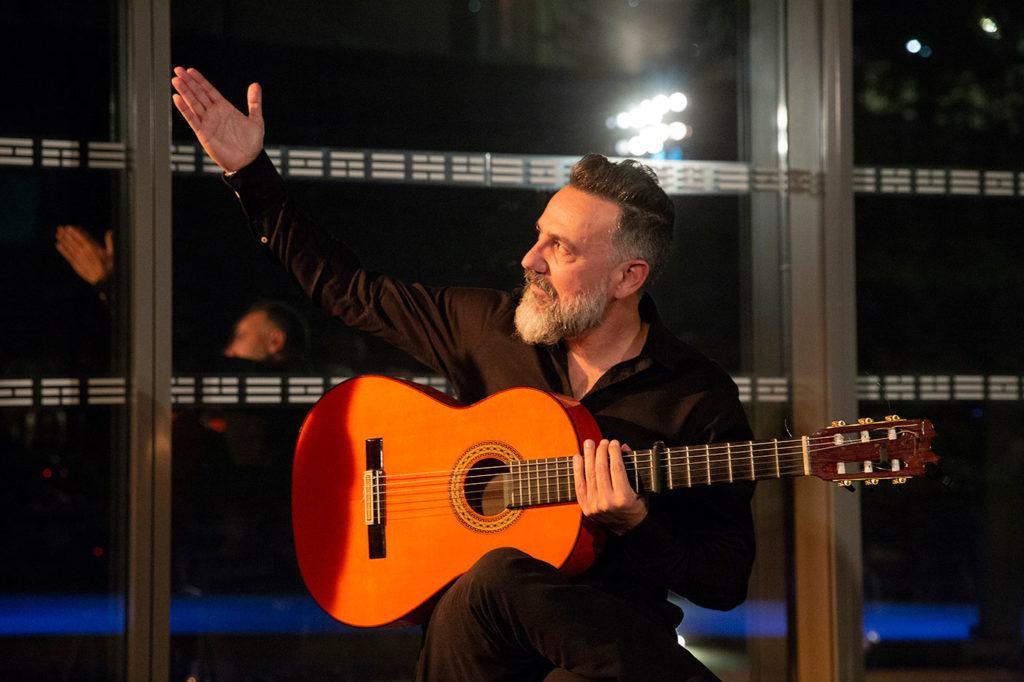 Javier Patino - Festival Flamenco Nimes - foto: Sandy Korzekwa