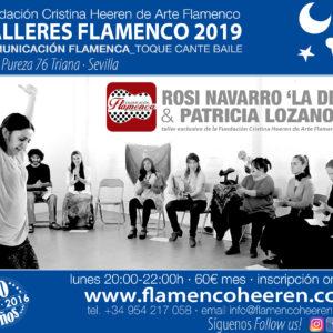 Rosi Navarro 'La Divi0' & Patricia Lozano - Talleres flamencos Fundación Cristina Heeren