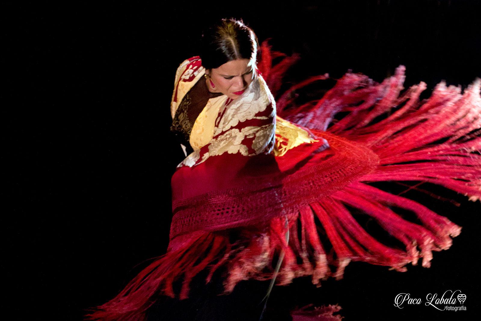 María Moreno - foto: Paco Lobato - Festival Flamenco Toulouse