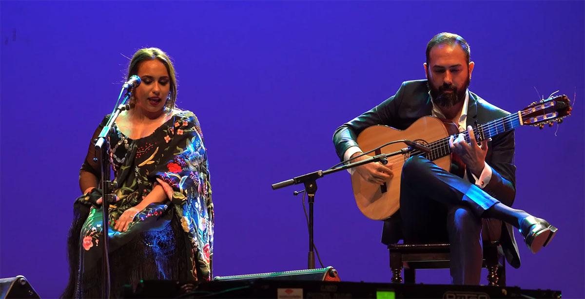 María Terremoto & Nono Jero en Rivas Flamenca