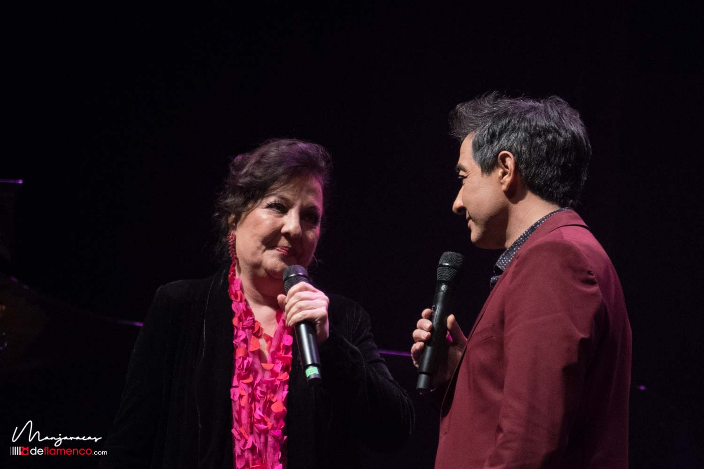 Valderrama & Carmen Linares en Inverfest (video)