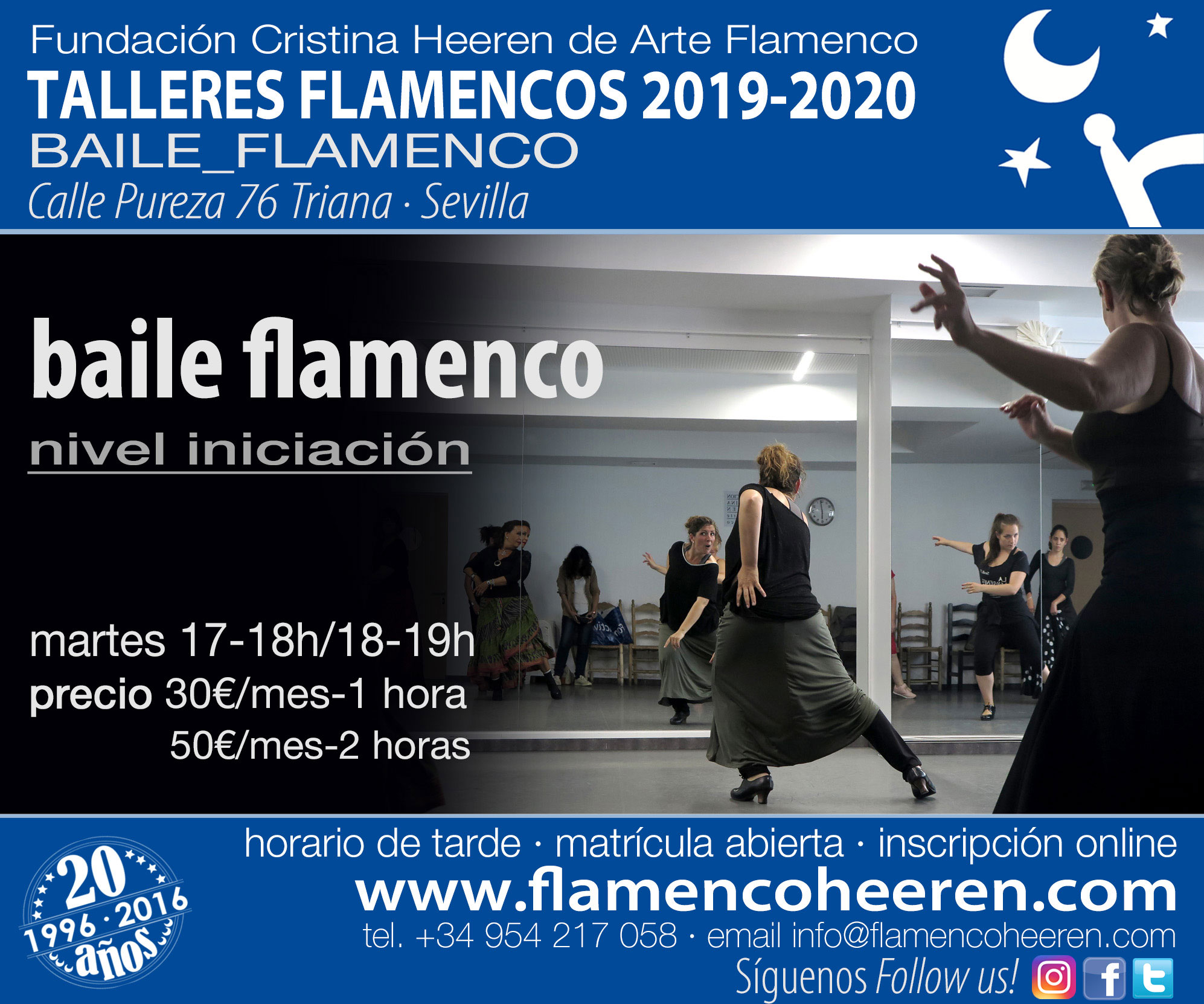 Baile Flamenco - Talleres flamencos Fundación Cristina Heeren