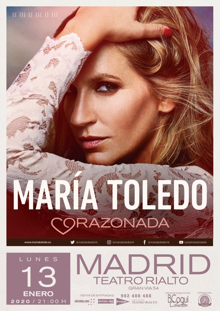 María Toledo en Teatro Rialto