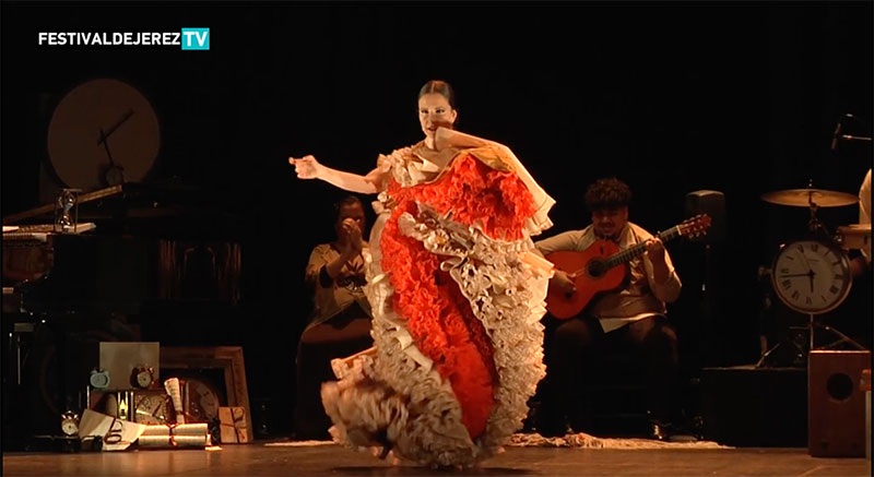 Video Luisa Palicio 'Tempus' Festival de Jerez