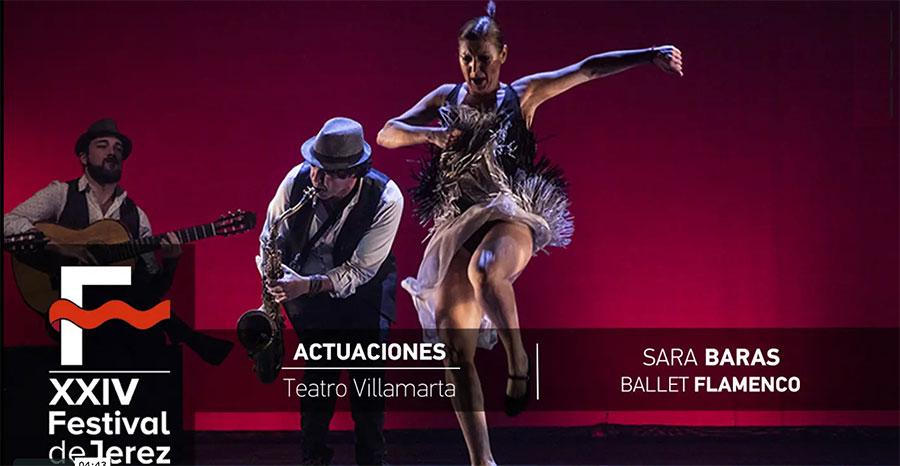 Video Sara Baras 'Sombras' en el Festival de Jerez