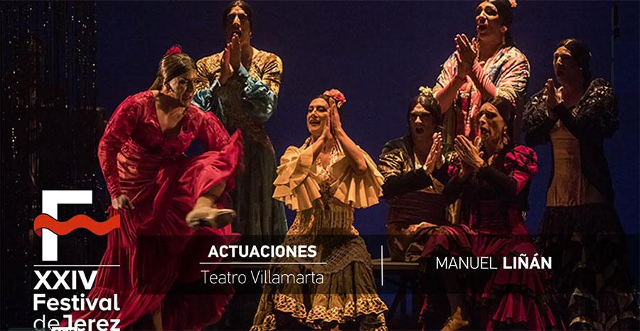 Video de '¡Viva!' de Manuel Liñán en el Festival de Jerez