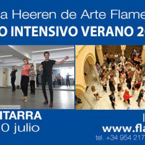 Curso Flamenco Verano Fundación Critina Heeren