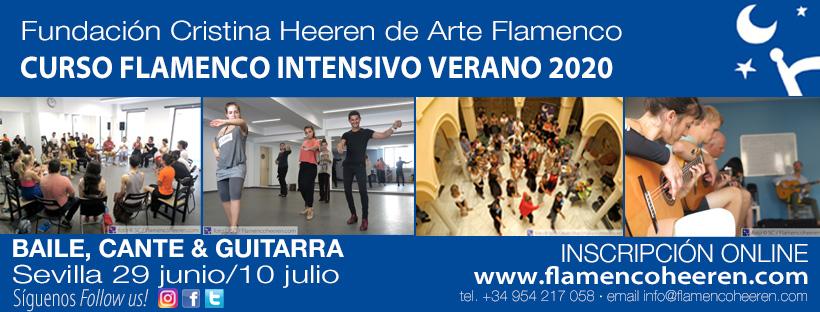 Curso Flamenco de Verano - Fundación Cristina Heeren
