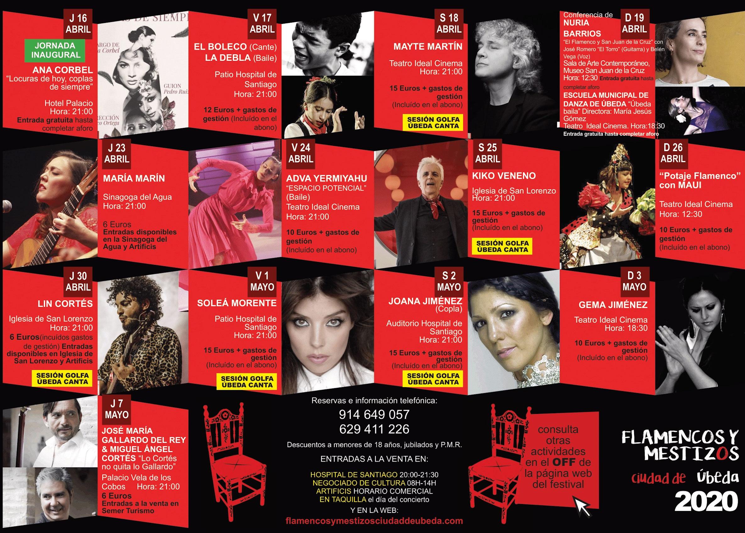 Flamencos y Mestizos - Úbeda (Jaén)
