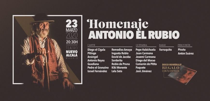 Homenaje a Antonio el Rubio