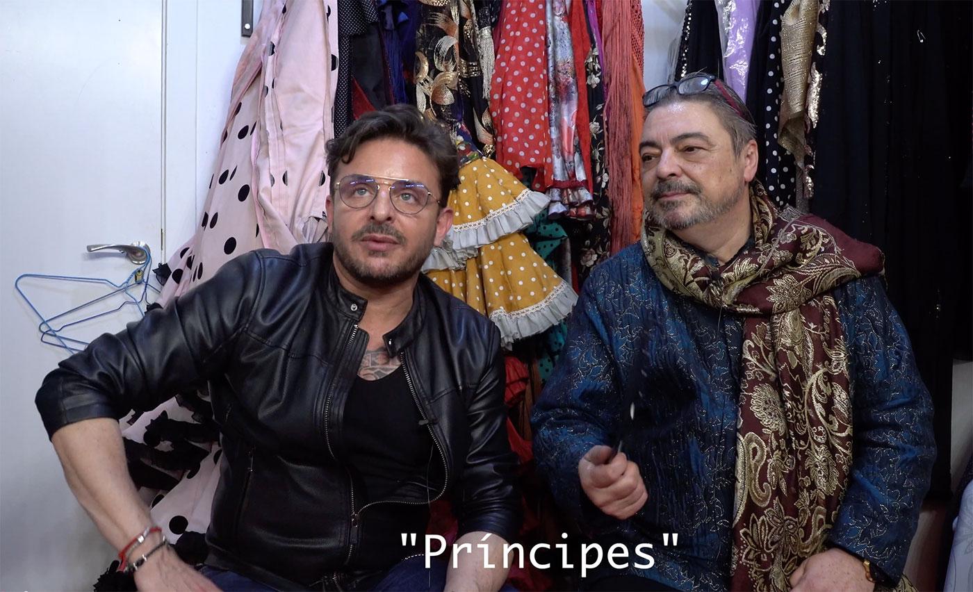 Juan Andrés Maya presenta 'Príncipes' en Granada