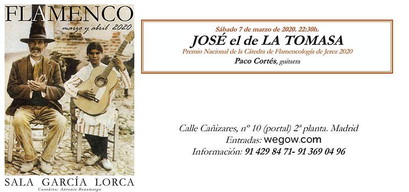 José de la Tomasa - Sala García Lorca
