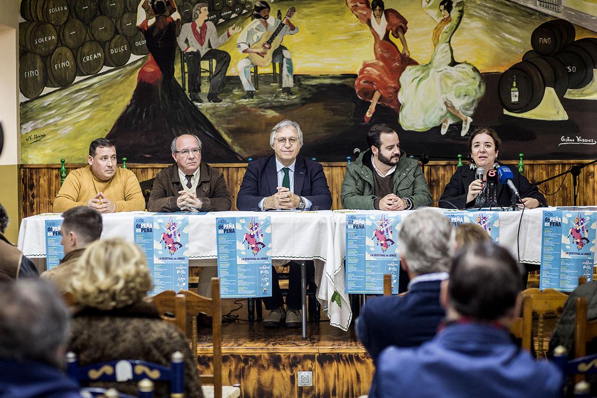 Ciclo 'De Peña en Peña' en el XXIV Festival de Jerez