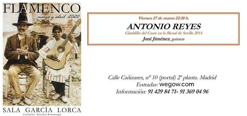 Antonio Reyes - Sala García Lorca