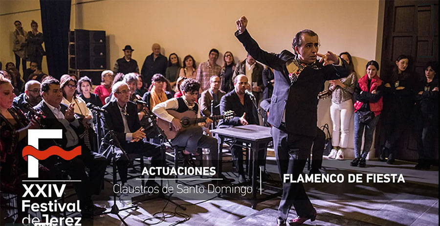 Video 'Flamenco de fiesta' Festival de Jerez