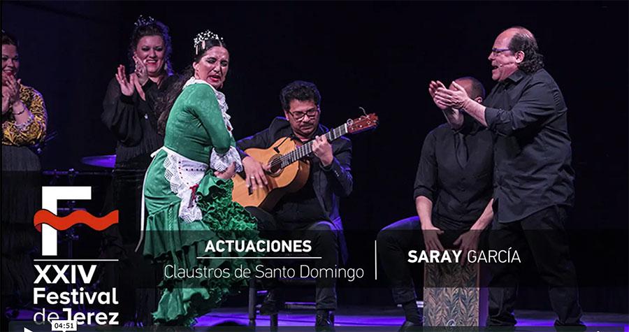 Video Saray García Festival de Jerez