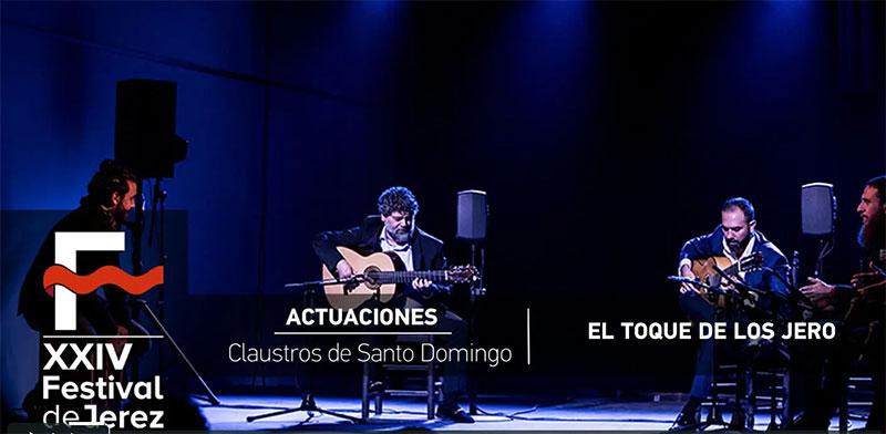Video 'El toque de los Jero' Festival de Jerez