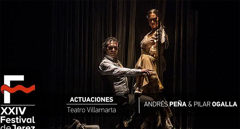 Video  Andrés Peña & Pilar Ogalla en el Festival de Jerez