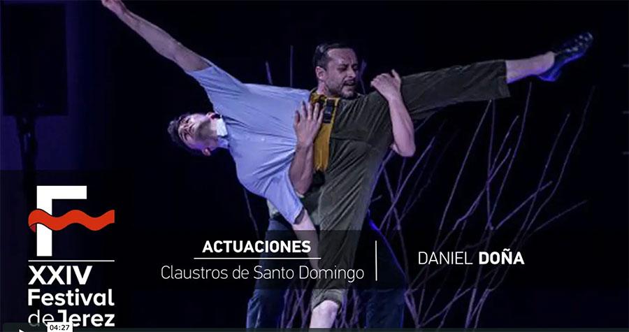 Video 'Psique' de Daniel Doña en Festival de Jerez