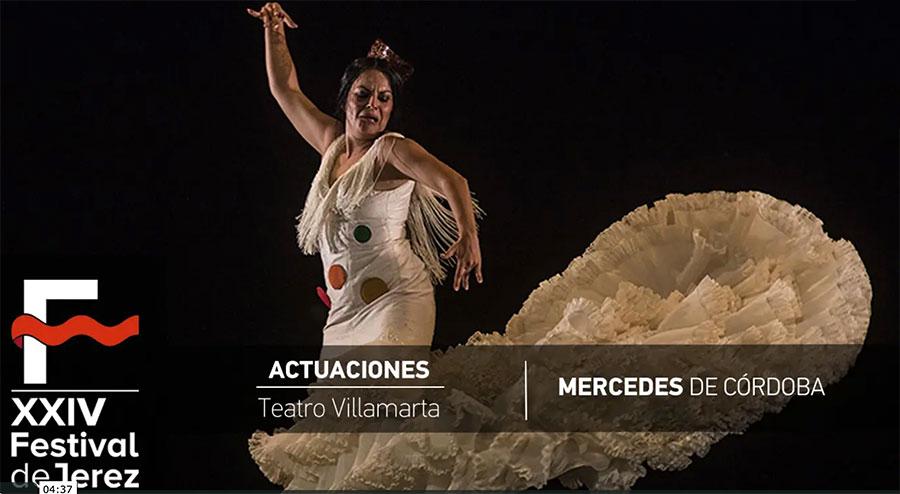 Video Mercedes de Córdoba 'Ser, ni conmigo ni sin mi' Festival de Jerez