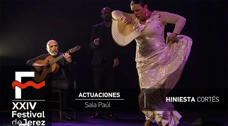 Video Hiniesta Cortés en el Festival de Jerez