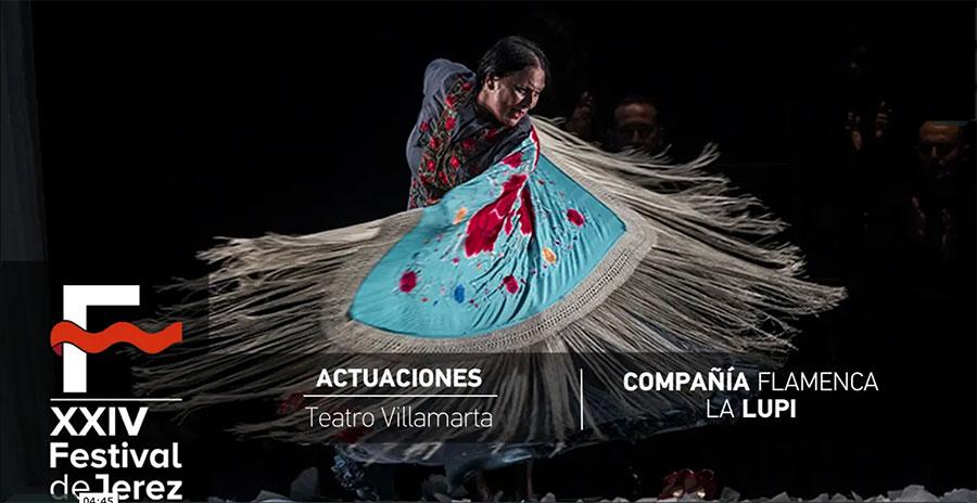 Video 'Lenguaje oculto' de La Lupi en Festival de Jerez