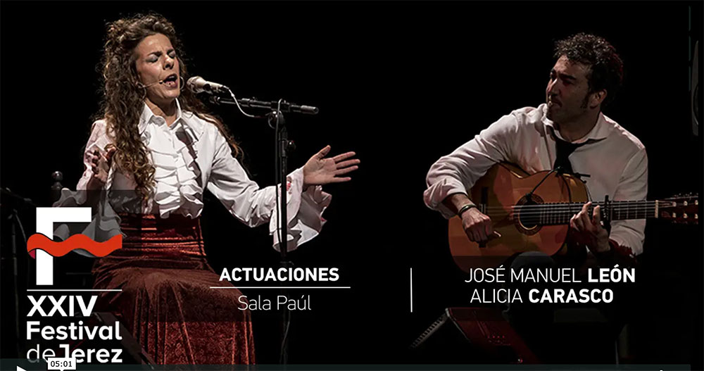 Video José Manuel León y Alicia Carrasco (Mujerklórica)