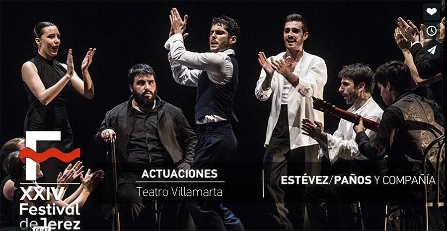 Video 'El sombrero' de Estévez & Paños Festival de Jerez