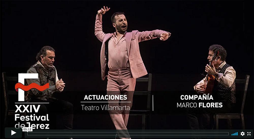 Video 'Rayuela' de Marco Flores en el Festival de Jerez