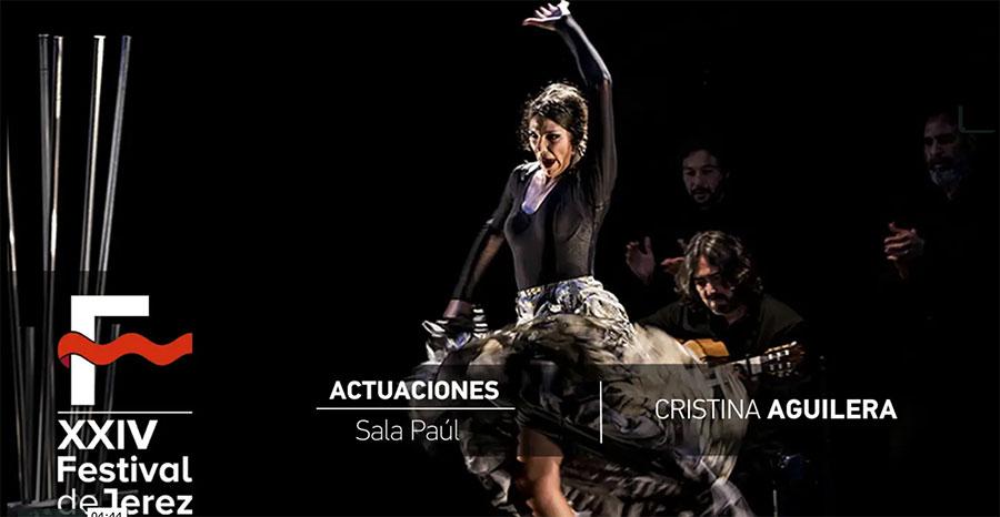 Video 'De agua, plata y tierra' de Cristina Aguilera en el Festival de Jerez