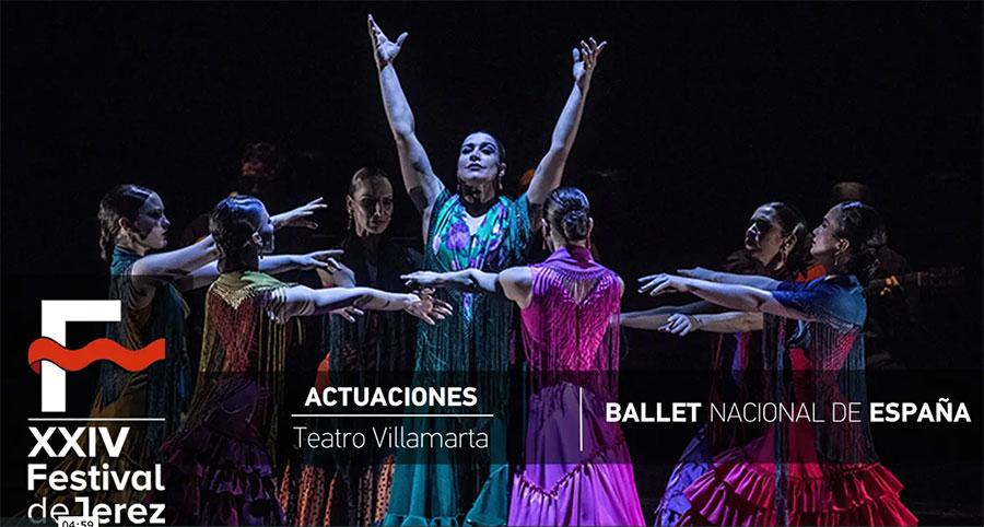 Video Ballet Nacional de España en el Festival de Jerez