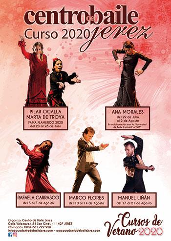 Cursos de Verano - Centro de Baile Jerez 2020