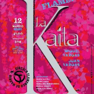La Kaíta - Dia de la Mujer - Círculo Flamenco de Madrid