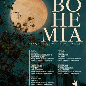 Noches de Bohemia 2020 Jerez