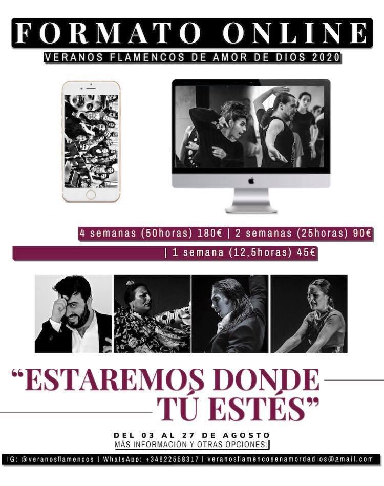 Veranos Flamencos Amor de Dios ONLINE