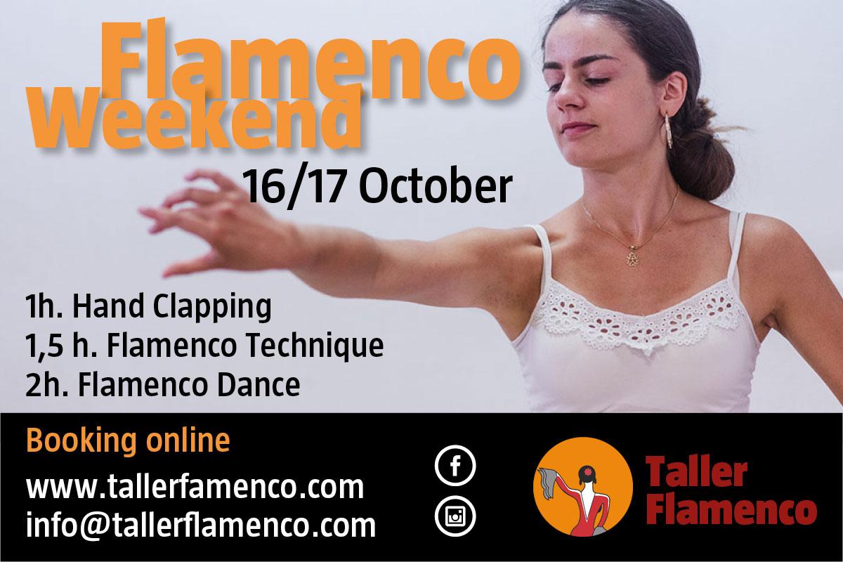 Flamenco weekend - Taller Flamenco