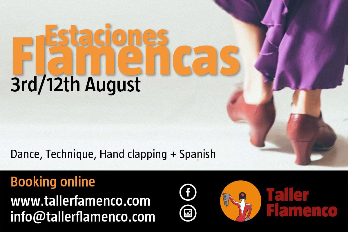 Estaciones flamencas - Taller Flamenco
