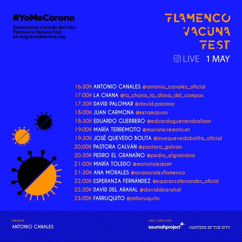 Flamenco Vacuna Fest 1 mayo