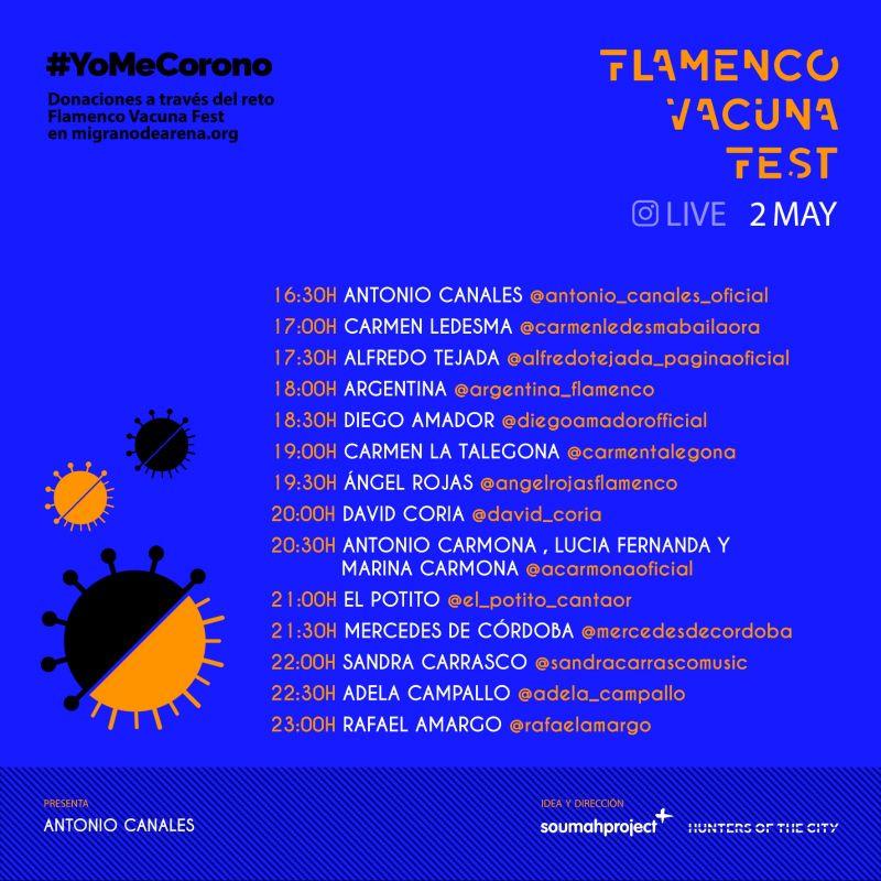 Flamenco Vacuna Fest 2 mayo