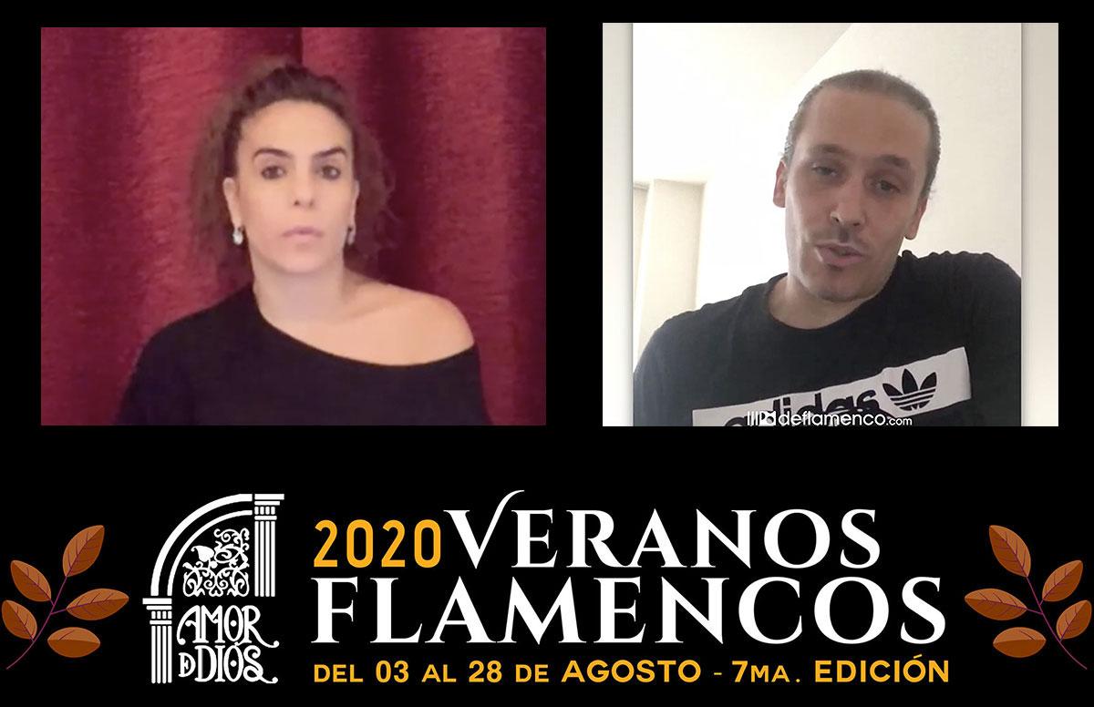 Charla con María Juncal & Alfonso Losa sobre los Veranos Flamencos de Amor de Dios