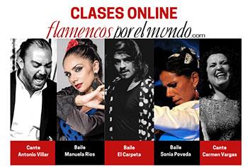 Clases online - Flamencos por el mundo