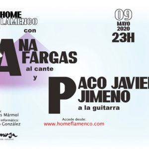 Home Flamenco - Ana Fargas & Paco Javier Jimeno