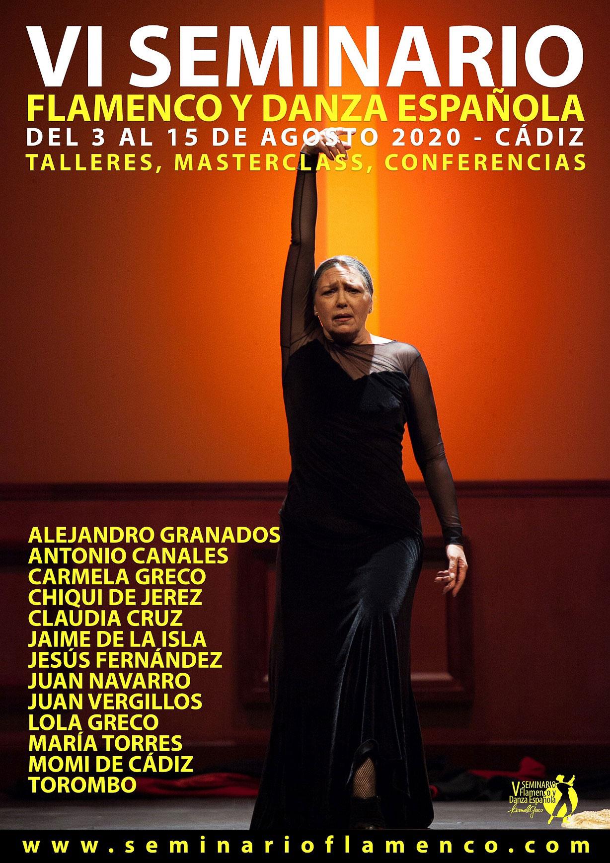 Seminario de Flamenco y Danza Española - Cádiz